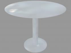 Tavolo da pranzo (laccato bianco D90)