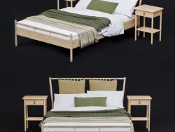 Кровать IKEA BJORKSNAS