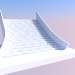 3d model Main staircase - preview
