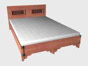 Double bed 140x220