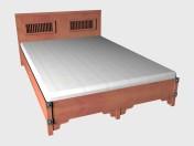 Кровать 2-местная 140х220