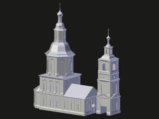 Arzamas. Smolensk church