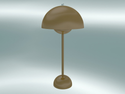 Table lamp Flowerpot (VP3, Ø23cm, H 50cm, Mustard)