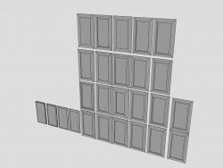 Façades de meubles prof AGT