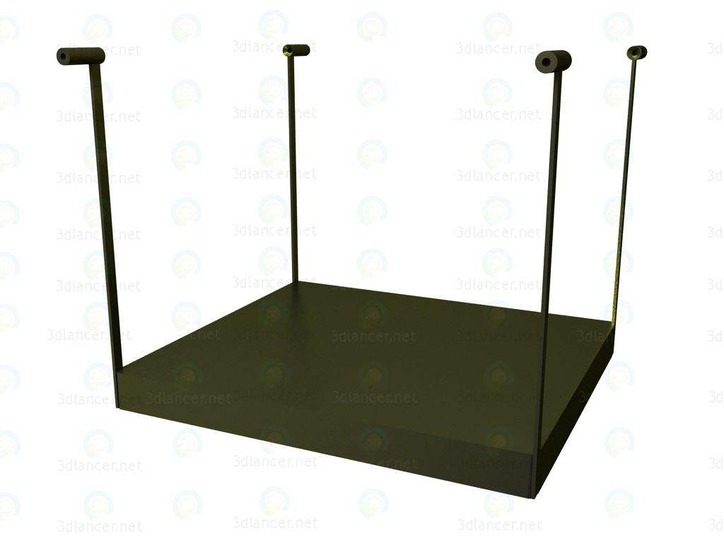 3d модель Поличка для столу P1S0506A – превью