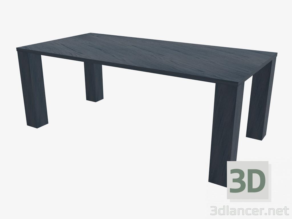 Modelo 3d Mesa de comedor Sahara del fabricante Giorgio Armani Casa ...