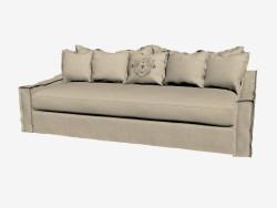 Sofa-bed three-seated (light)
