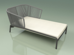 Chaise longue 004 (Cord 7mm Gray)