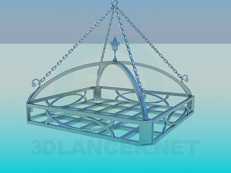 3d modeling Hanging Shelf model free download