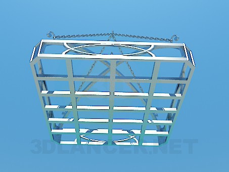 3d model Hanging Shelf - preview