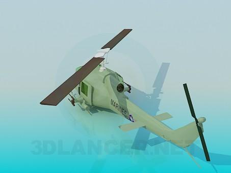 3d модель Вертолет – превью