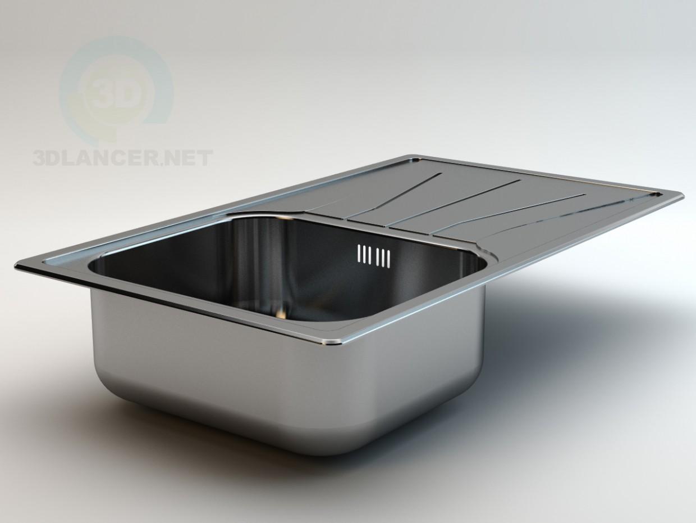 3d model Diplomat 10 Bowl & Drainer - preview