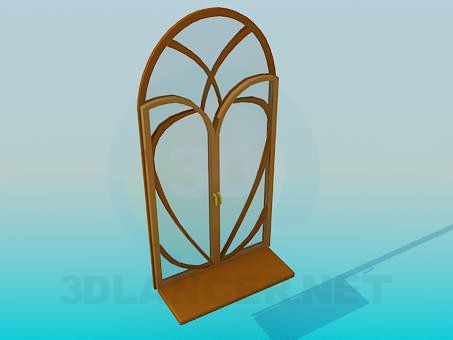 3d model Radio de la ventana - vista previa