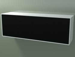 Caja doble (8AUFBA03, Glacier White C01, HPL P06, L 144, P 36, H 48 cm)
