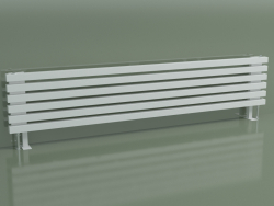 Radiateur horizontal RETTA (6 sections 1800 mm 40x40, blanc brillant)