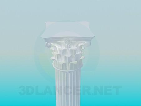 modelo 3D Colonna - escuchar