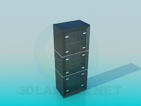 3d model Shelving in the office - preview