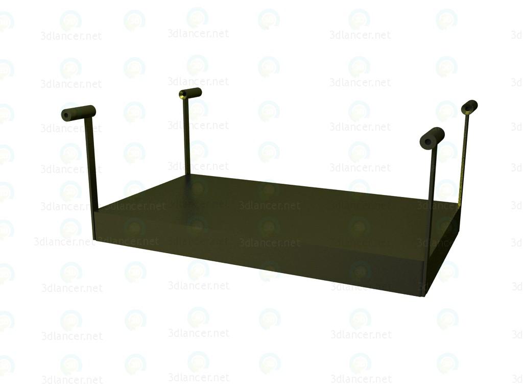 3d моделирование Полка для стола P1S0505B модель скачать бесплатно