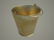 Bucket 8L, usual (enamel, aluminum ... gold)