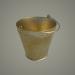 3d model Bucket 8L, usual (enamel, aluminum ... gold) - preview