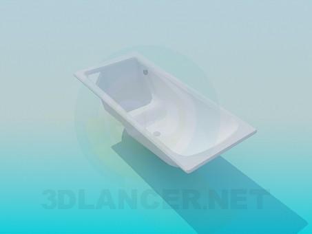 modelo 3D Bañera con asiento - escuchar