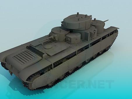 modelo 3D T-35A - escuchar