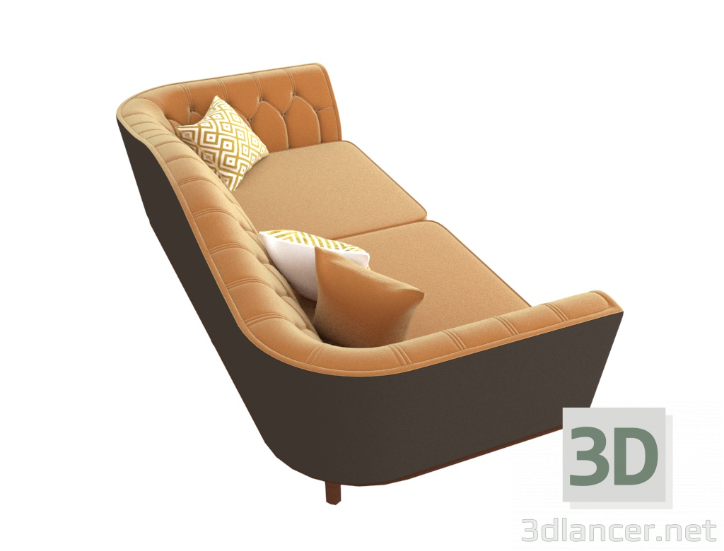 3D Koltuk Koltuk Lima. modeli satın - render