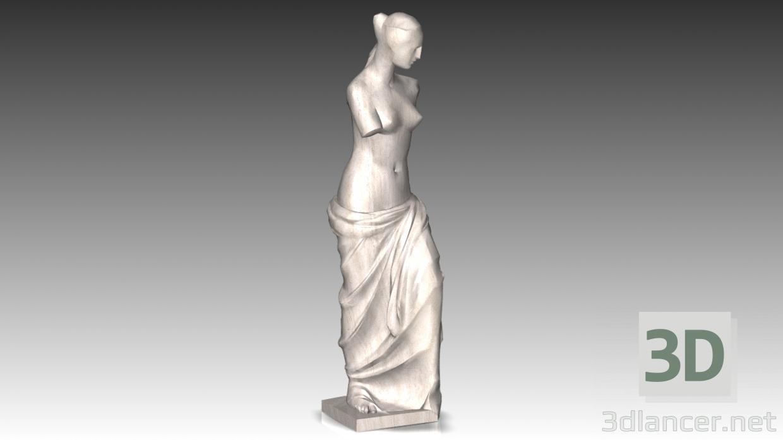 3d модель Венера – превью