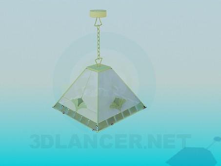 3d model Lámpara de la cocina - vista previa