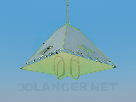 3d model Kitchen chandelier - preview
