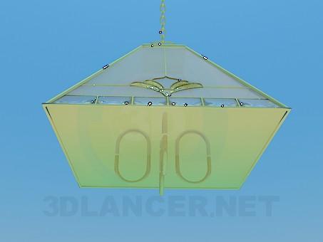 3d модель Кухонная люстра – превью