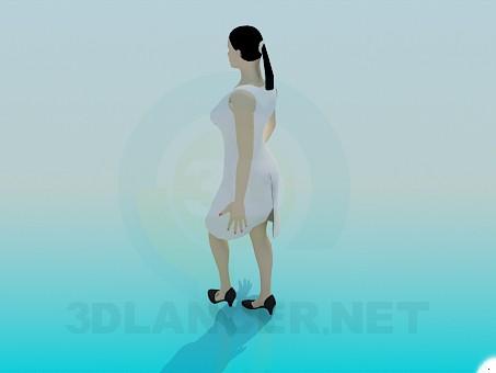3d модель Жінка – превью