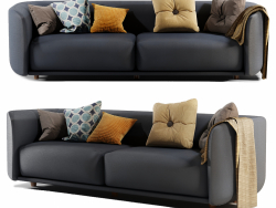 Fat-Tulip-3 Seater Sofa