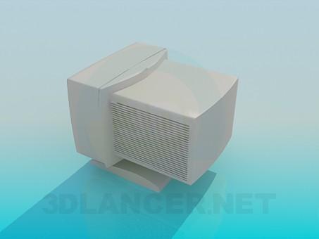 3d модель Монитор ЭЛТ – превью