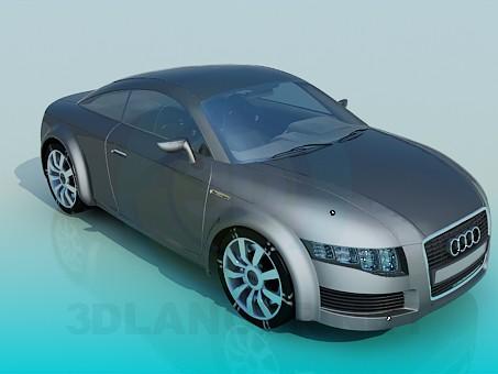 3d model Audi nuvolari - preview