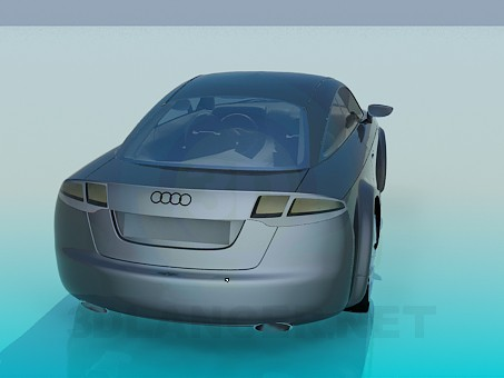 modelo 3D Audi nuvolari - escuchar