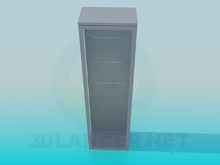 modelo 3D Armario escaparate - escuchar