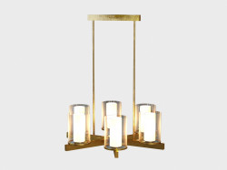 CANDLESTICK chandelier CHANDELIER (CH042-6-BRS)