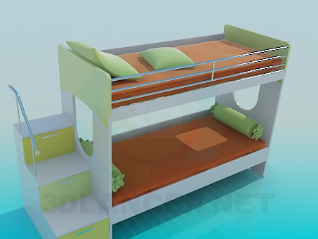 3d modeling Sofa bed model free download