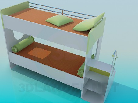 3d model Sofa bed - preview