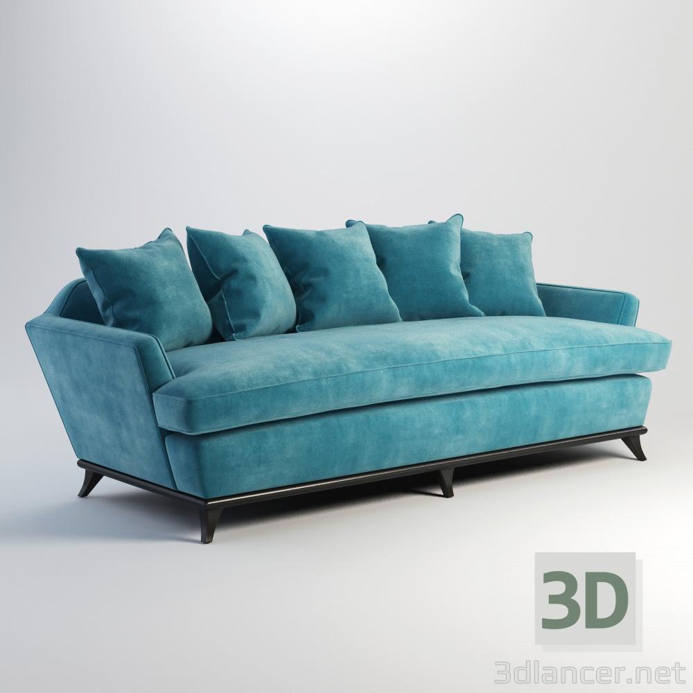 3d model sofá París. - vista previa