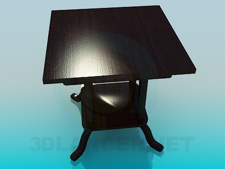 3d model Table - preview