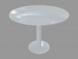 Table à manger (D100 laqué blanc)