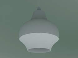 Pendant lamp CIRQUE 220 (40W E27, GRAY TOP)