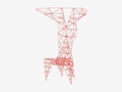 Chair Frame (Rouge) Chaise Pylon