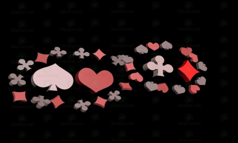3d model La tarjeta se adapta - vista previa