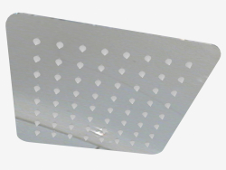 Square shower head 300x300 mm Floks (NAC 009K)