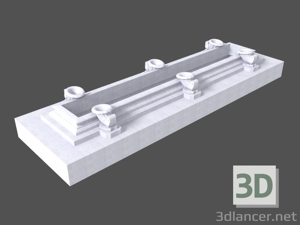 3 डी मॉडल फाउंटेन (LF25K) - पूर्वावलोकन