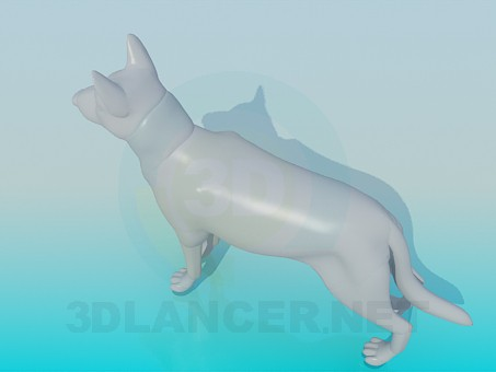 3d model Dog - preview