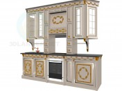 kitchen in the style of Baroque